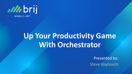 Up Your Productivity Game